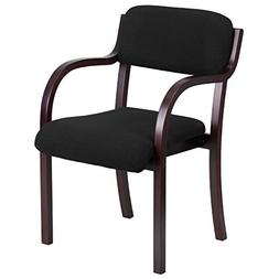 Wood Side Guest Chair, Mahogany